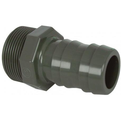 "PVC tvarovka - Trn hadicový 25 x 3/4"""