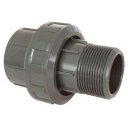 """PVC tvarovka - Šroubení 40 x 1 1/4"""" ext."""