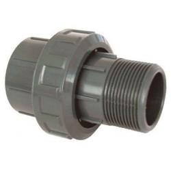 """PVC tvarovka - Šroubení 50 x 1 1/2"""" ext."""