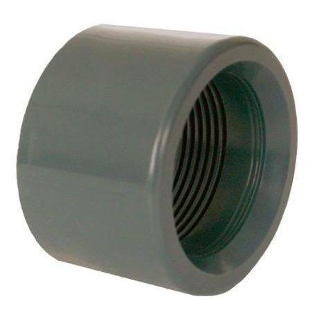"""PVC tvarovka - Redukce krátká vkládací se závitem 50 x 1 1/4"""" int."""