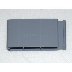 Lamelový kryt hladiny bazénu lamela PVC 52x12mm šedá Grey 7004 základ