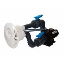 Protiproud V-JET 66 m3/h, 230 V, 2,2 kW, pro fóliové a předvyrobené baz., potrubí ⌀ 75 mm
