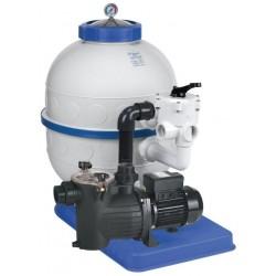 Filtrační zařízení - Granada KIT 500, 12 m3/h, 230V, 6-ti cest. boč. ventil, čerp. Preva 75