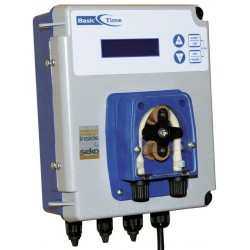 Dávkovací pumpa SEKO BASIC Time - DIGITAL, čas. spínač, použití pro flokulant