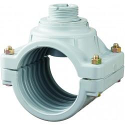 Digit. průtokoměr - Sedlo navrtávací 140 mm pro senzor průtoku