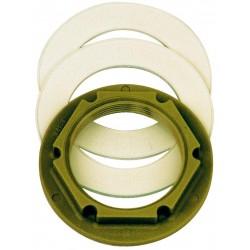 """Vtoková tryska plast příslušenství - Kontramatka R 2"""" PA 6,6 + dvě těsnění EPDM"""