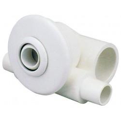 Hydromasážní tryska - Minitryska 24 ABS (bílá), ⌀ otvoru 23  mm