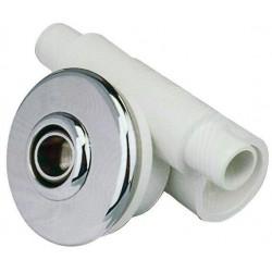 Hydromasážní tryska - Minitryska 24 ABS (chrom), ⌀ otvoru 23