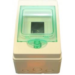 Rozvaděč 4-modulový (plastový)