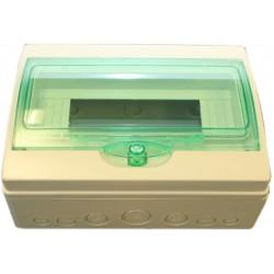 Rozvaděč 12-modulový (plastový)