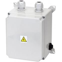 El. ovládání-spínání protiproudu 6-10A,IP65,tlakový spínač,2,5–4,5kW