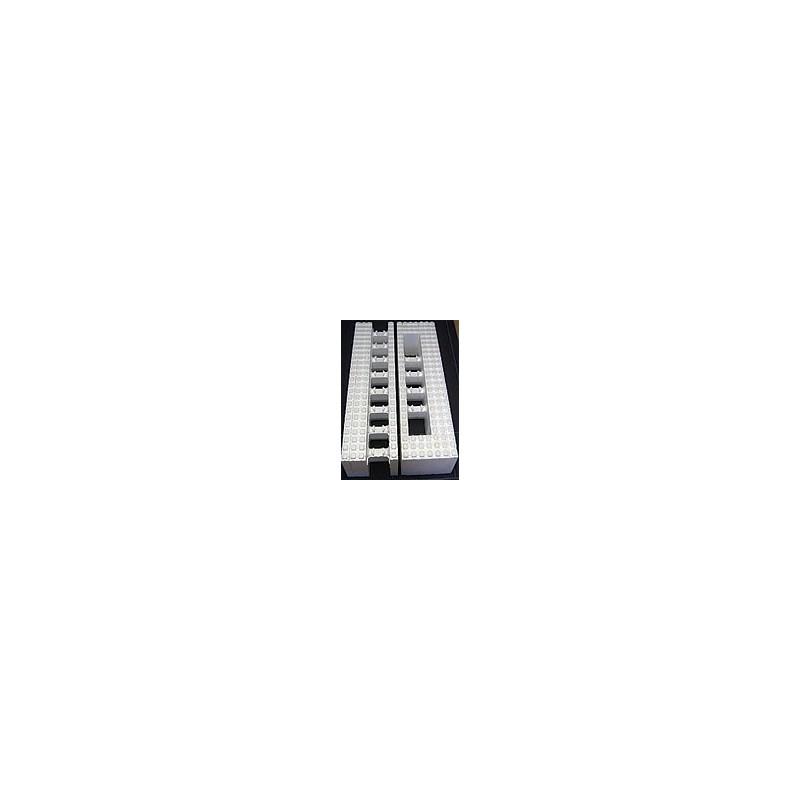 Thermomur Polystyrenová tvárnice 1200x250x350mm - průchozí