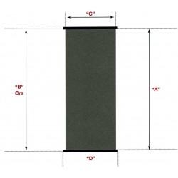 Solární kolektor SC 1,2 m x 2,4 m -- plocha 2,88 m2