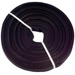 Tkaloun pro uchycení solárního kolektoru – 1 m černý (baleno po 50 m)