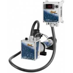 Topení - Heat Pool 9kW, 230/400V, Titan, el.průt.spínač,dig.termostat