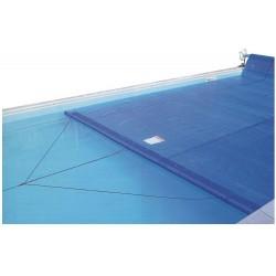 Plovoucí a vodící hrana krycích plachet délka 4,8 m