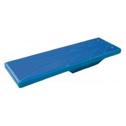 Skákací prkno - 1400x425x250mm - modré/modré