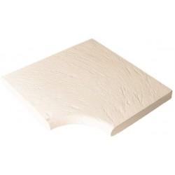 Dlažba Ardoise – rohová dlaždice R 150 int., 1 kus