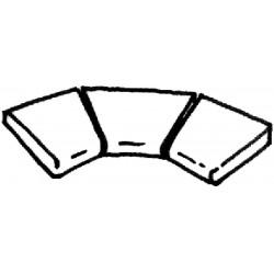 Dlažba Ardoise – rohová dlaždice R 610 int., 3 kus