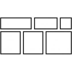 Dlažba Memphis – 6 kusů , 1 modul (0,90 m2) x tl. 27 mm