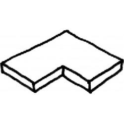 Dlažba Trianon – rohová dlaždice 90° int., 1 kus