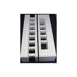 Polystyrenová tvárnice 1200x250x350mm - koncový blok