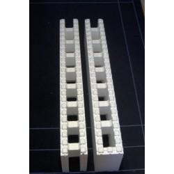 Polystyrenová tvárnice 1200x250x150mm - příčkový blok