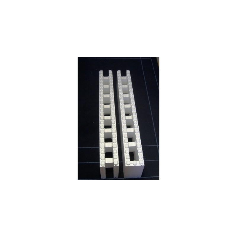 Thermomur Polystyrenová tvárnice 1200x250x150mm - příčkový blok