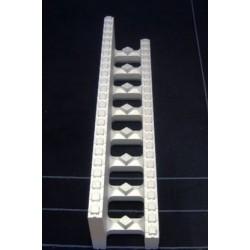 Polystyrenová tvárnice 250x250x10x1200mm - věncový L blok
