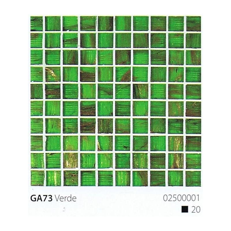 VITREX Skleněná mozaika 2x2cm GA73 Verde