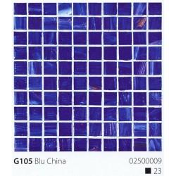 Skleněná mozaika 2x2cm G105 Blu China