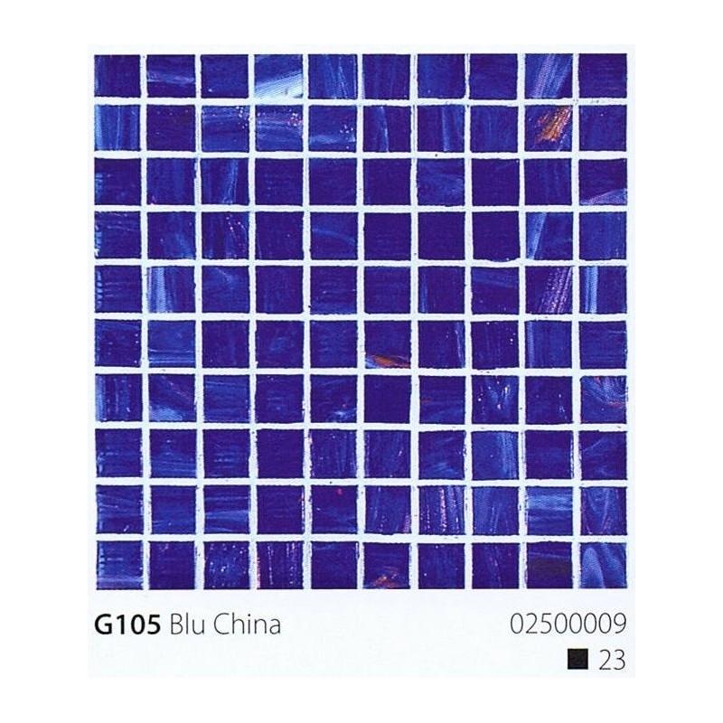 VITREX Skleněná mozaika 2x2cm G105 Blu China