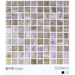 Skleněná mozaika 2x2cm G115 Grigio