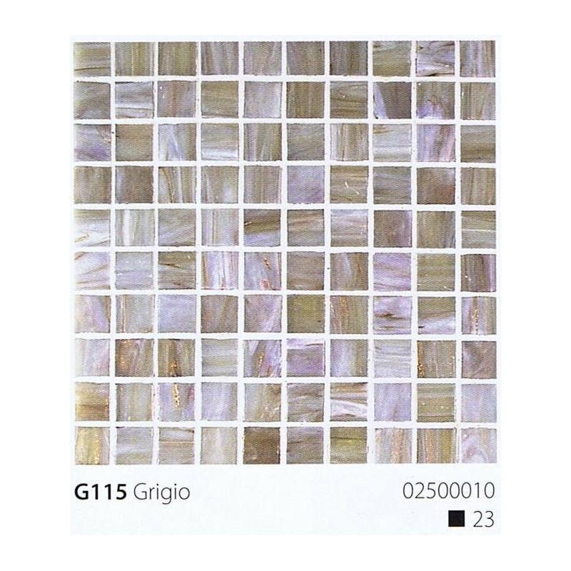 VITREX Skleněná mozaika 2x2cm G115 Grigio