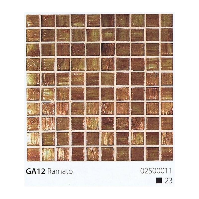 VITREX Skleněná mozaika 2x2cm GA12 Ramato