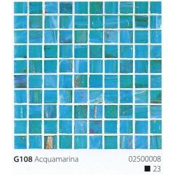 Skleněná mozaika 2x2cm G107 Acquamarina Scuro