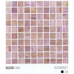 Skleněná mozaika 2x2cm G220 Lilla
