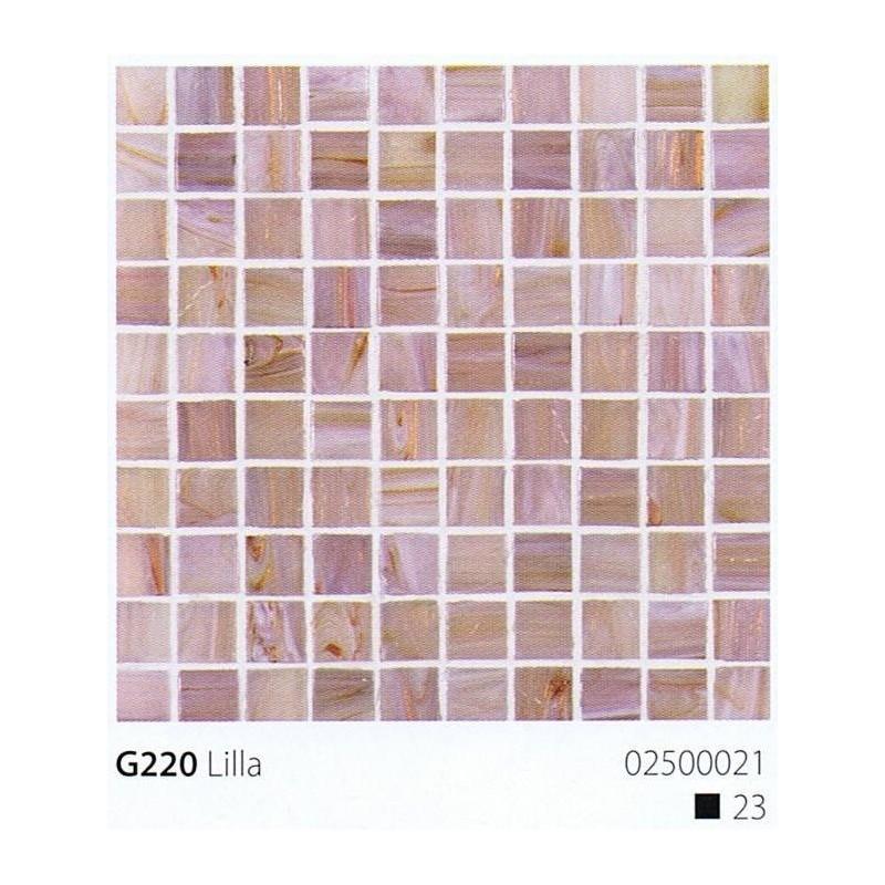 VITREX Skleněná mozaika 2x2cm G220 Lilla