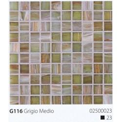 Skleněná mozaika 2x2cm G116 Grigio Medio