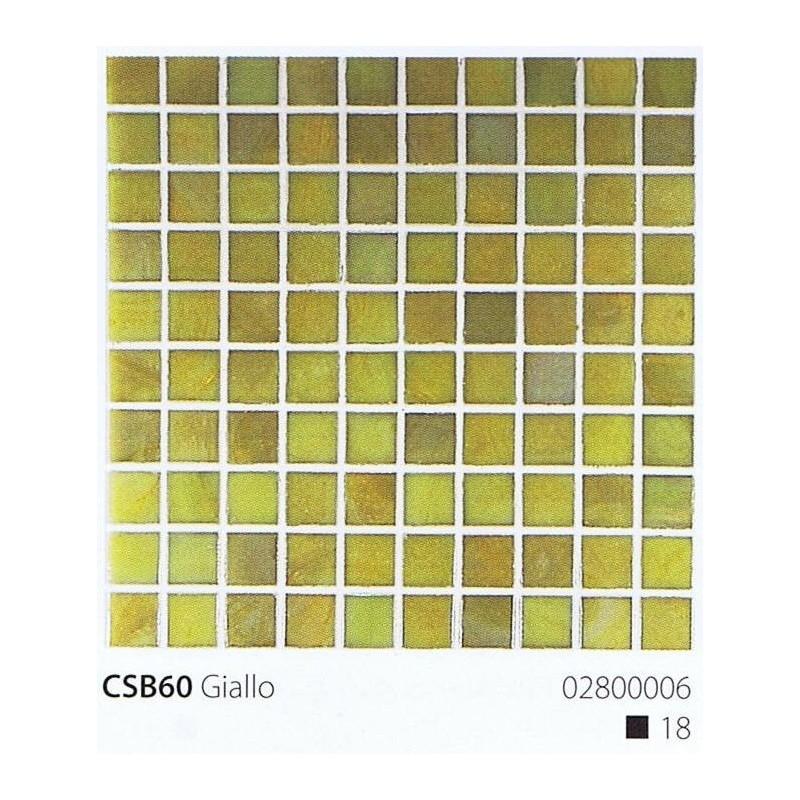 VITREX Skleněná mozaika 2x2cm CSB60 Giallo
