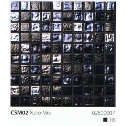 Skleněná mozaika 2x2cm CSM02 Nero Mix