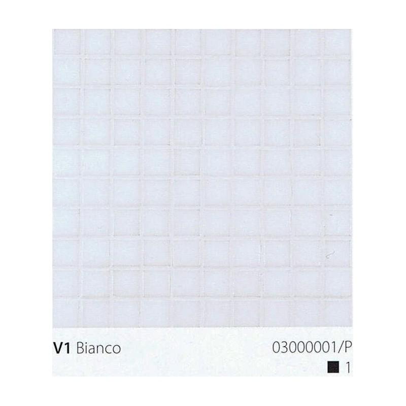 VITREX Skleněná mozaika 2x2cm V1 Bianco