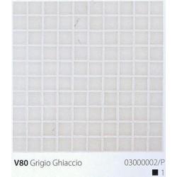 Skleněná mozaika 2x2cm V80 Grigio Ghiaccio