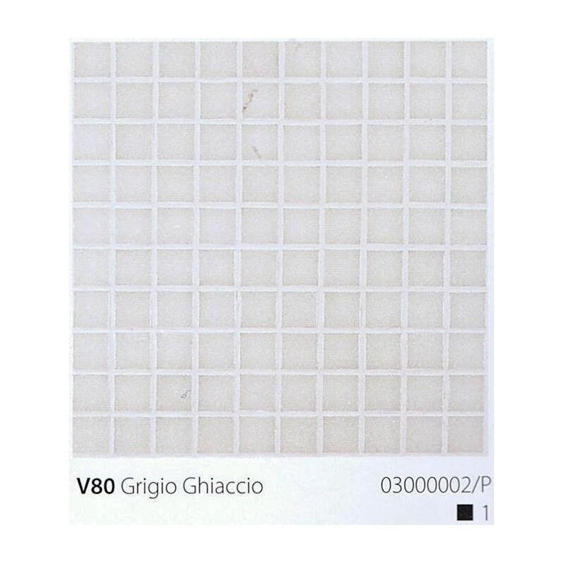 VITREX Skleněná mozaika 2x2cm V80 Grigio Ghiaccio