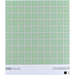 Skleněná mozaika 2x2cm V42 Verde
