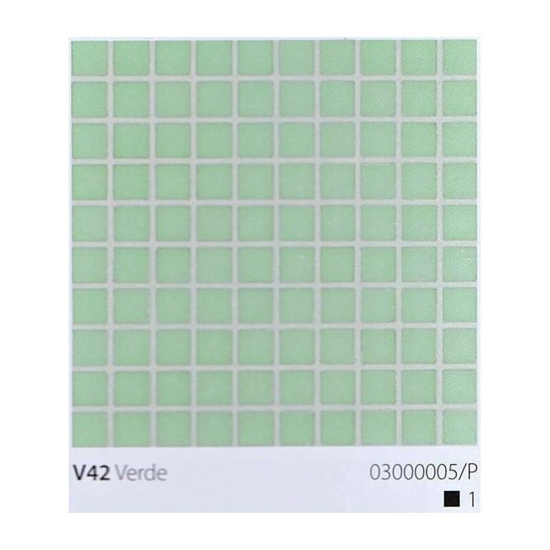 VITREX Skleněná mozaika 2x2cm V42 Verde