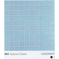 Skleněná mozaika 2x2cm V61 Azzurro Chiaro