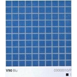 Skleněná mozaika 2x2cm V90 Blu