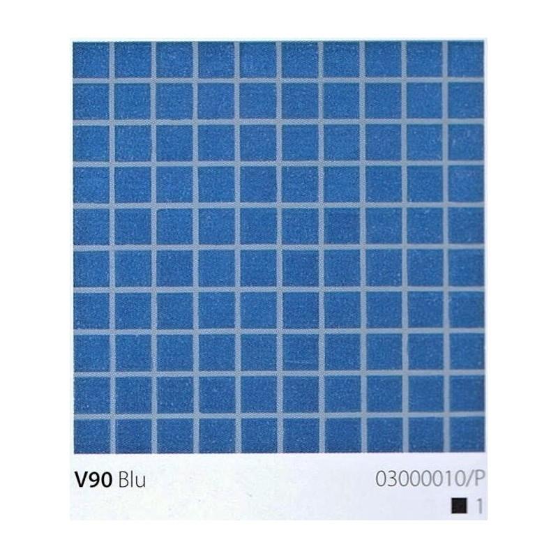 VITREX Skleněná mozaika 2x2cm V90 Blu