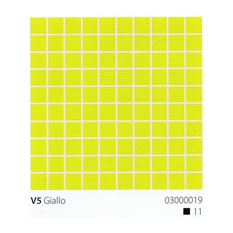 VITREX Skleněná mozaika 2x2cm V5 Giallo